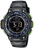 Casio Men's SGW-1000-2BCF Triple Sensor Digital Display Quartz Black Watch