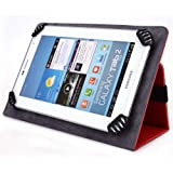 iNOVA EX756 7 Inch Tablet Case, UniGrip Edition - RED - By Cush Cases