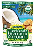 Let's Do...Organic Shredded, Unsweetened Coconut, 8 Ounce Packages (Pack of 12)
