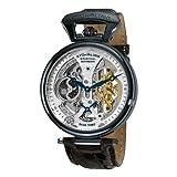 Stuhrling Original Men's 127A2.33152 Analog Display Automatic Self Wind Black Watch