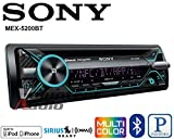 Sony MEX-N5200BT CD Receiver with Bluetooth, external microphone and SiriusXM Ready