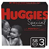 Huggies Special Delivery Hypoallergenic Diapers, Size 3 (16-28 lb.), 58 Ct, Giga Jr. Pack