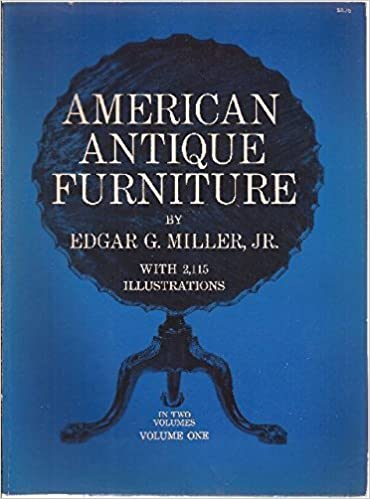 American Antique Furniture A Book For Amateurs Vol 1 By Edgar G Miller Jr  Amazon Com Books