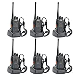 BaoFeng BF-888S Two Way Radio (Pack of 6pcs radios) -...