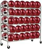 Champion Sports Football Helmet Cart (Chrome)