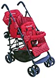 Kinderwagon Hop Tandem Stroller - Red
