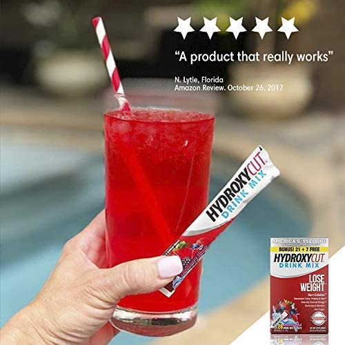 Hydroxycut Drink Mix Weight Loss Supplements, Wildberry Blast, 28 Count (Pack of 1) 9