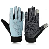 KIM YUAN Touch Screen Sun Protection Cycling Gloves, for Mountain Biking, Running, Hiking, General Using, Suits Men & Women