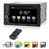 Boss Audio Systems BV9364B Car Stereo DVD Player - Double Din, Bluetooth Audio/Hands-Free Calling, 6.2 Inch Touchscreen LCD Monitor, MP3 Player, CD, DVD, USB Port, SD, AUX Input, AM/FM Radio Receiver