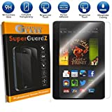 [2-PACK] For Kindle Fire HDX 7' (3rd Gen, 2013 Release) - SuperGuardZ Tempered Glass Screen Protector, 9H, 0.3mm, 2.5D Round Edge, Anti-Scratch, Anti-Bubble