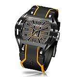 Wryst Elements PH5 Swiss Watch Orange & Black