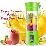 KEMPHO Plastic Portable USB Electric Blender Juice Cup (Multicolour)