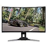Acer XZ321QU bmijpphzx 31.5' Curved WQHD (2560 x 1440) Monitor with AMD FREESYNC Technology   1ms   144Hz Refresh   HDR Ready   (Display Port, Mini Display Port & 2 x HDMI Ports)