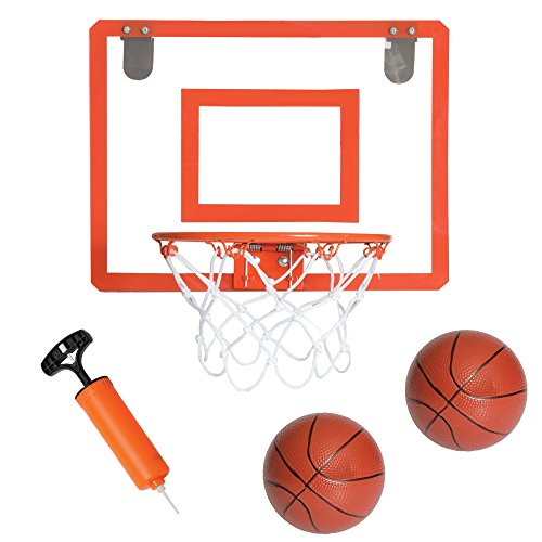 Mini Basketball Hoop for Door - Bedroom Basketball Hoop Indoors Set