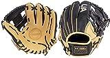 Under Armour Genuine Pro 11.5' I-Web Baseball Glove, Right Hand Throw (Black/Cream)