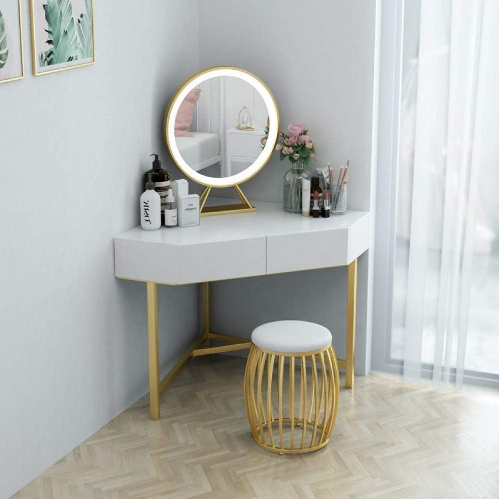 Lvfang Triangle Dressing Table Corner Bedroom Dressing Table Small Apartment Bedroom Corner Makeup Table Simple Modern Amazon De Kuche Haushalt