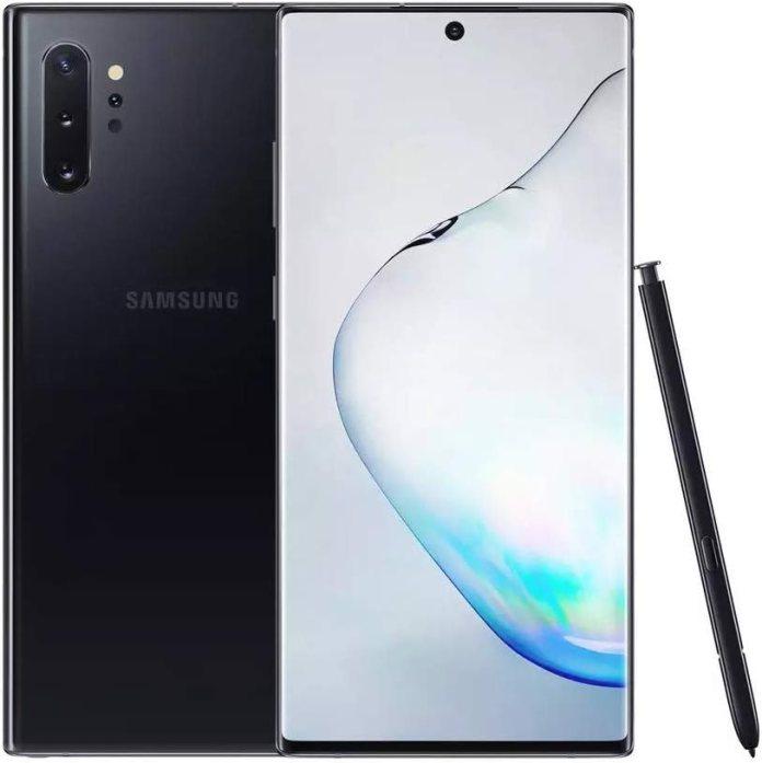 Amazon Com Samsung Galaxy Note 10 Plus 5g Single Sim Sm N976b 256gb Factory Unlocked 5g Smartphone International Version Aura Black