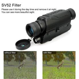 SVBONY-SV52-Night-Vision-Monocular-Digital-5x32mm-with-15-inch-LCD-Display-8GB-TF-Card-Take-Photos-and-Video-for-Hunting-Security-Surveilla