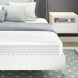 Signature Sleep Contour 8″ Reversible Mattress, Independently Encased Coils, Bed-in-a-Box, Queen