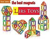 LIRS TOYS 30-pcs: Magnetic Blocks, Magnetic Tiles, Building Blocks Set for Kids/Toddlers Age 3+.Creativity & Educational Toys for Boys/Girls.Premium 3D