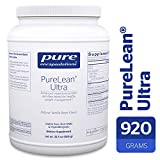 Pure Encapsulations - PureLean Ultra - Vegetarian Pea Protein and Fiber Blend with Green Tea and Stevia for Weight Management** - Natural Vanilla Bean Flavor - 32.5 oz (920 Grams)