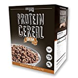 Protein Cereal, Low Carb Cereal, High Protein Cereal, 15g Protein, 4g Net Carbs, High Performance Cereal, 5 Individual Macro-Controlled Packages (Cocoa)