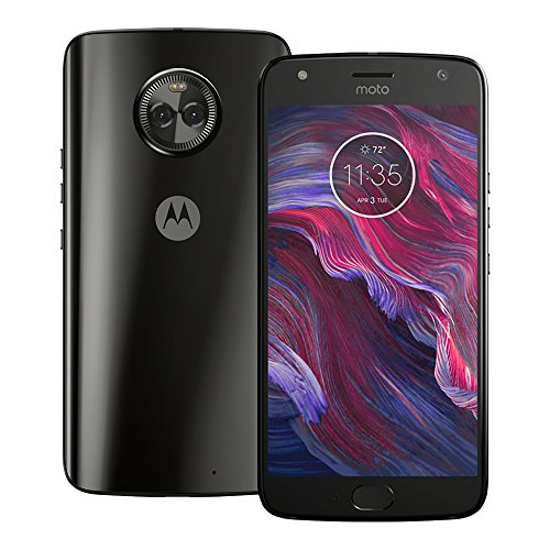 Motorola Moto X4 4G LTE 64GB 5.2' 4GB RAM XT1900-2 Dual Camera Factory Unlocked Super Black