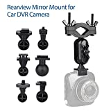 Blueskysea Car Gadget Car Dash Camera Rearview Mirror Mount Holder Clip For G1W G1W-C/CB GT550S G1WH SJ5000x SJ4000 SJ7 Git2P YI