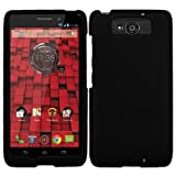 TurtleArmor | Motorola Droid Maxx Case XT1080 | Droid Ultra Case XT1080M [Slim Duo] Hard Shell Snap On Case Fit Compact on Black Robot Android Design - Black