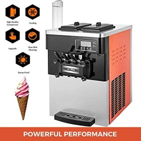 VEVOR-2200W-Commercial-Soft-Ice-Cream-Machine-20-to-28L-or-53-to-74Gal-Per-Hour-LED-Display-Auto-Shut-Off-Timer-3-Flavors-Perfect-for-Restaurants-Orange