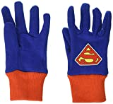 Midwest Gloves & Gear SFS102T-T-AZ-6 SFS102T-T-DC-12 Superman Jersey Glove, Toddler, Multicolor