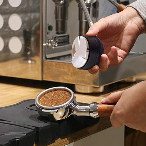 Wingjip Coffee Tamper Coffee Distributor/Leveler Tool 58mm Adjustable Grip  Handle, Black, Powder Press, Barista Family… - Kusina Ni Boyeng