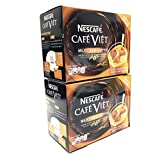 Nescafe Cafe Viet Milky Iced coffee instant coffee & Creamer drink mix - 14 Packets/9.87oz | 2 Packs
