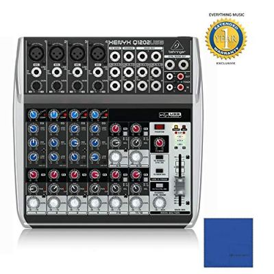 Behringer Xenyx Q1202USB 12 ingressi, 2-bus Analog Mixer