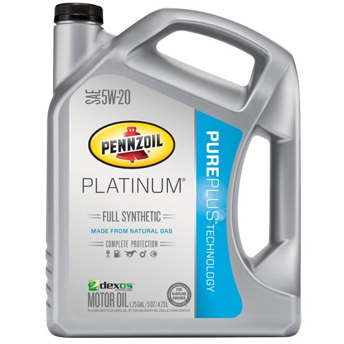 Pennzoil 550038332 Platinum 5W-20 Full Synthetic Motor Oil