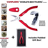 Vampire Professional Tools International VT-001 Vampliers Portable 6.25' Patented Screw Extraction Pliers Best Gift for Dad (Best Gift Set Box)