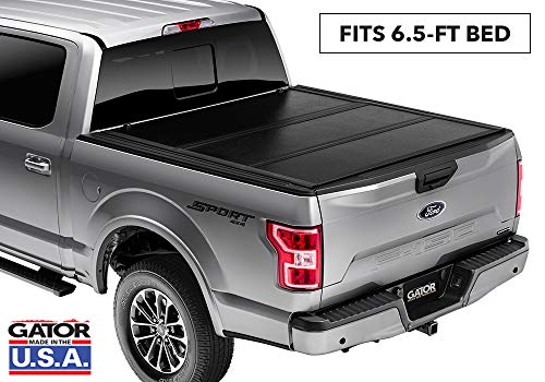 Gator EFX Hard Tri-Fold Truck Bed Tonneau Cover | GC14019 | fits 2014-2018 & 2019 Chevy Silverado Legacy/GMC Sierra Limited 6' 6' Bed w/ rail system | MADE IN THE USA