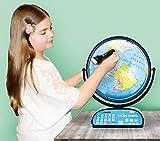 Replogle Intelliglobe,Interactive,Blue Ocean World Globe,Perfect Educational Toy4Kids 12'/30cm diam