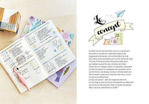 Concept - bullet journal