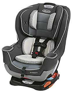 """The American Academy of Pediatrics recommends children ride rear-facing until at least 2 years of age. Extend2Fit convertible car seat features a 4-position extension panel that provides 5"""" of extra legroom allowing your child to ride safely rear-fac..."""