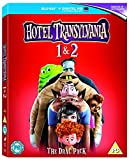 Hotel Transylvania 1-2 [Blu-ray] UK region