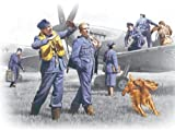 ICM Models RAF Pilots and Ground Personnel 1939-1945 Building Kit
