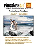 11' X 17' 50 Sheets Premium Luster Inkjet Photo Paper [Office Product]