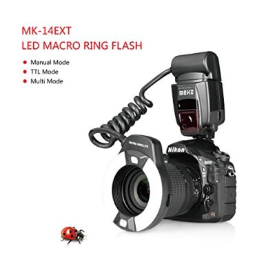 MEKE-MK-14EXT-N-I-TTL-Macro-Ring-Flash-for-Nikon-D7100-D7000-D5200-D5100-D5000-D3200-D3100-D90-D300S-D600-with-LED-AF-Assist-Lamp