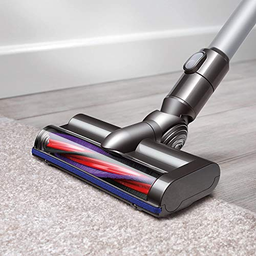 Dyson-SV07-V6-HEPA-Stick-Vacuum-Cleaners-Cordless-Lightweight-Powerful-Suction-for-Versatile-Cleaning-White-BROAGE-6-Colors-Microfiber-Cleaning-Cloths