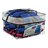 Onyx General Purpose Life Vest, Adult Universal (4-Pack),Red - Blue,30-52-Inch Chest, persons over 90-Pounds., universal