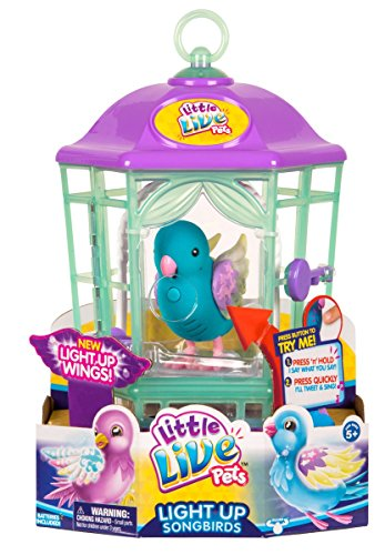 Little Live Pets Bird with Cage-Twinkle Tweets Childrens Toy