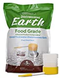 Harris Diatomaceous Earth Food Grade, 5lb w/Powder Duster Included in The Bag
