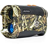 AOFAR Range Finder for Hunting Archery H2 600/1000 Yards Shooting Wild Waterproof Coma Rangefinder, 6X 25mm, Range and Bow Mode, Free Battery Gift Package