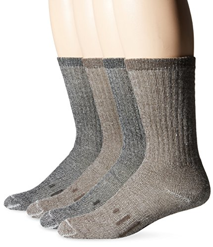 Kirkland Signature Men's Outdoor Trail Sock Merino Wool Blend Assorted Pack Mens 8-12